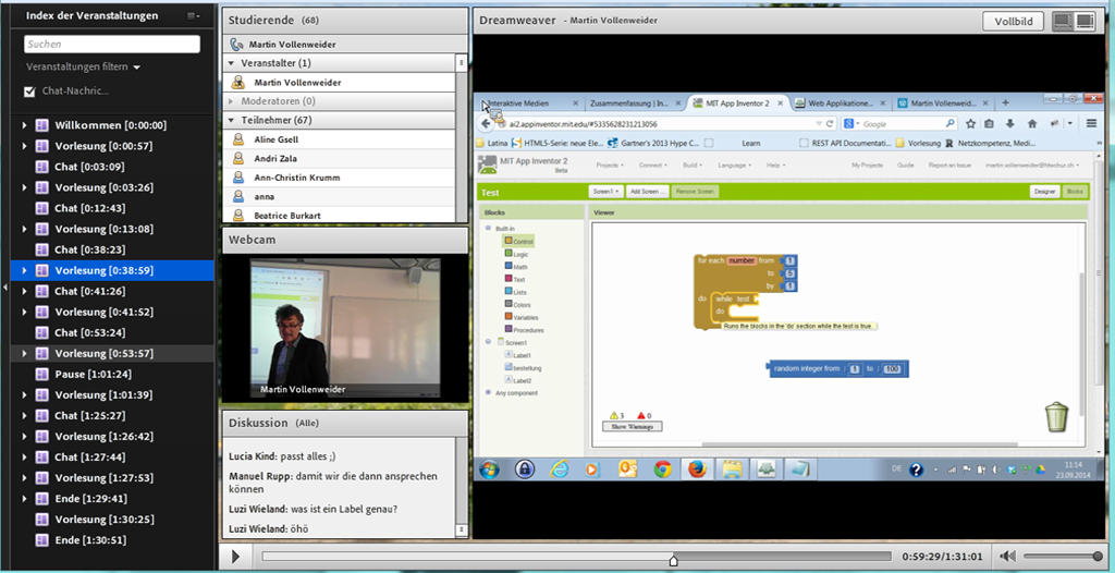 Software Example Screen Shot