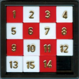 Figure 2: The 15 squares puzzle game