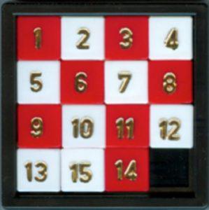 Figure 2: The 15 squares puzzle game