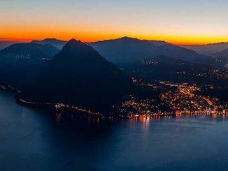 Lugano at Night