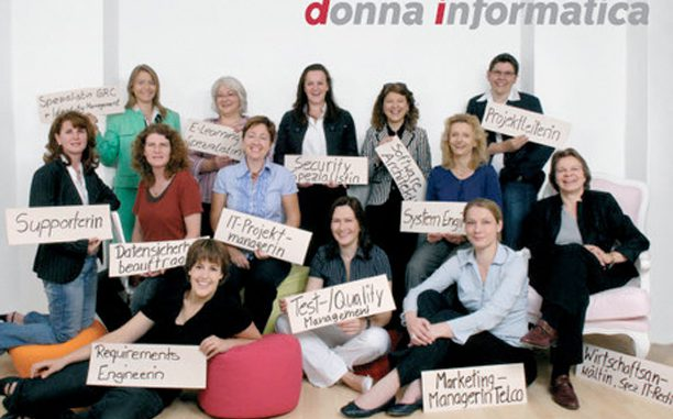 Donna Informatica Group Image