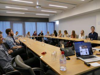 Präsentationen der HTW Studierenden bei Swissmem